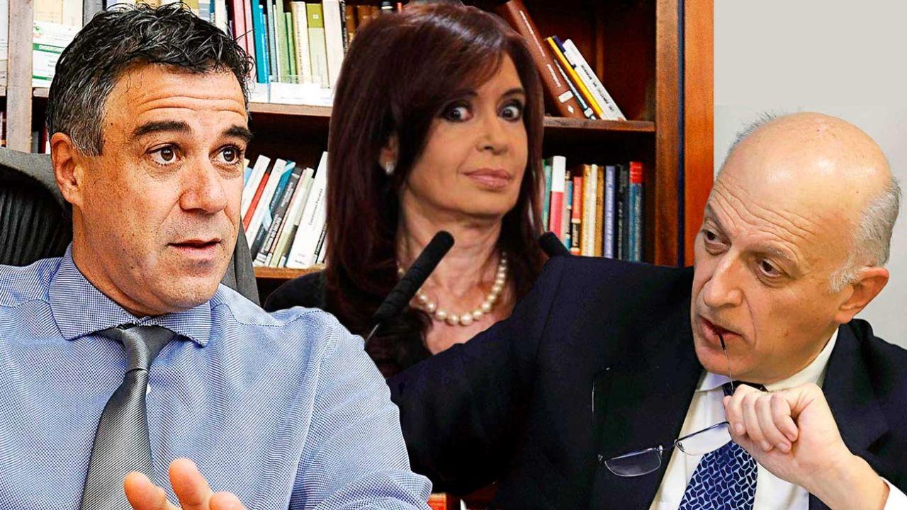 Daniel Rafecas - Cristina Kirchner - Eduardo Casal | Foto:cedoc