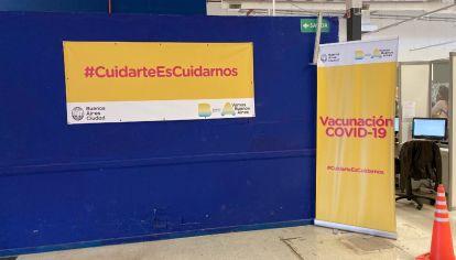 La sede histórica de San Lorenzo de Almagro se reservó momentáneamente para cumplir con la vacunación a alérgicos con el Covid-19