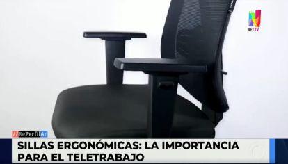 Aumentó un 1000% la venta de sillas ergonómicas