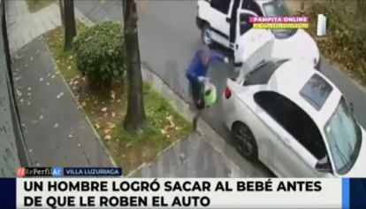 Intento de robo en Villa Luzuriaga
