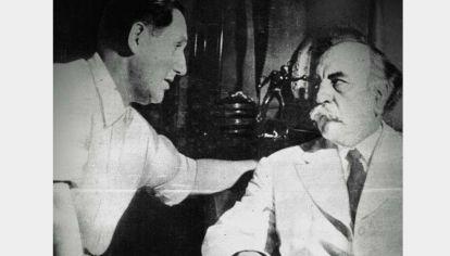 Juan H. Quijano, fue el vicepresidente de Perón en la primera presidencia.