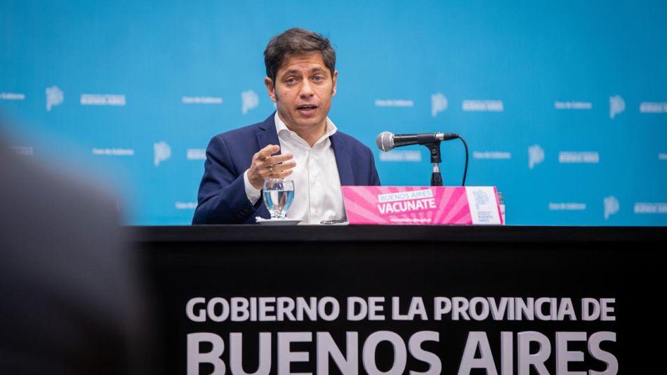 Anuncio de firma de contrato por vacunas en la provincia de Buenos Aires 20210609