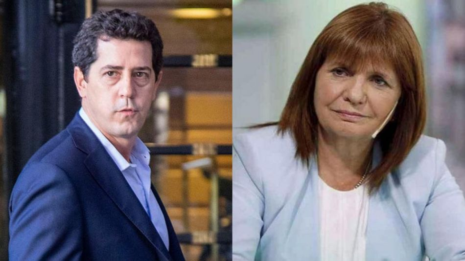 Patricia Bullrich y Wado de Pedro 20210609