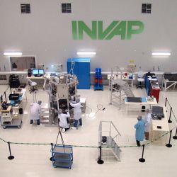 Fue íntegramente construido y diseñado por la empresa argentina de alta tecnología INVAP