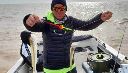 El mejor momento para pescar es después del mediodía.