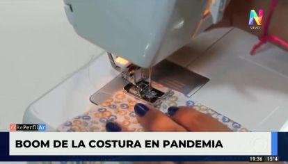 Boom de la costura en pandemia