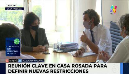 Reunión en Casa Rosada: la Ciudad Buenos Aires plantea nuevas aperturas