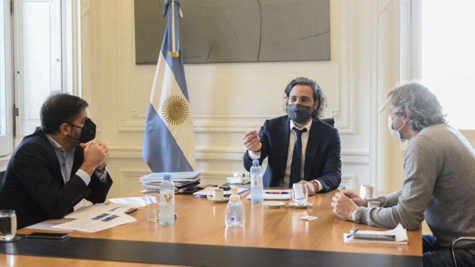 Santiago Cafiero Felipe Miguel Carlos Bianco g_20210610