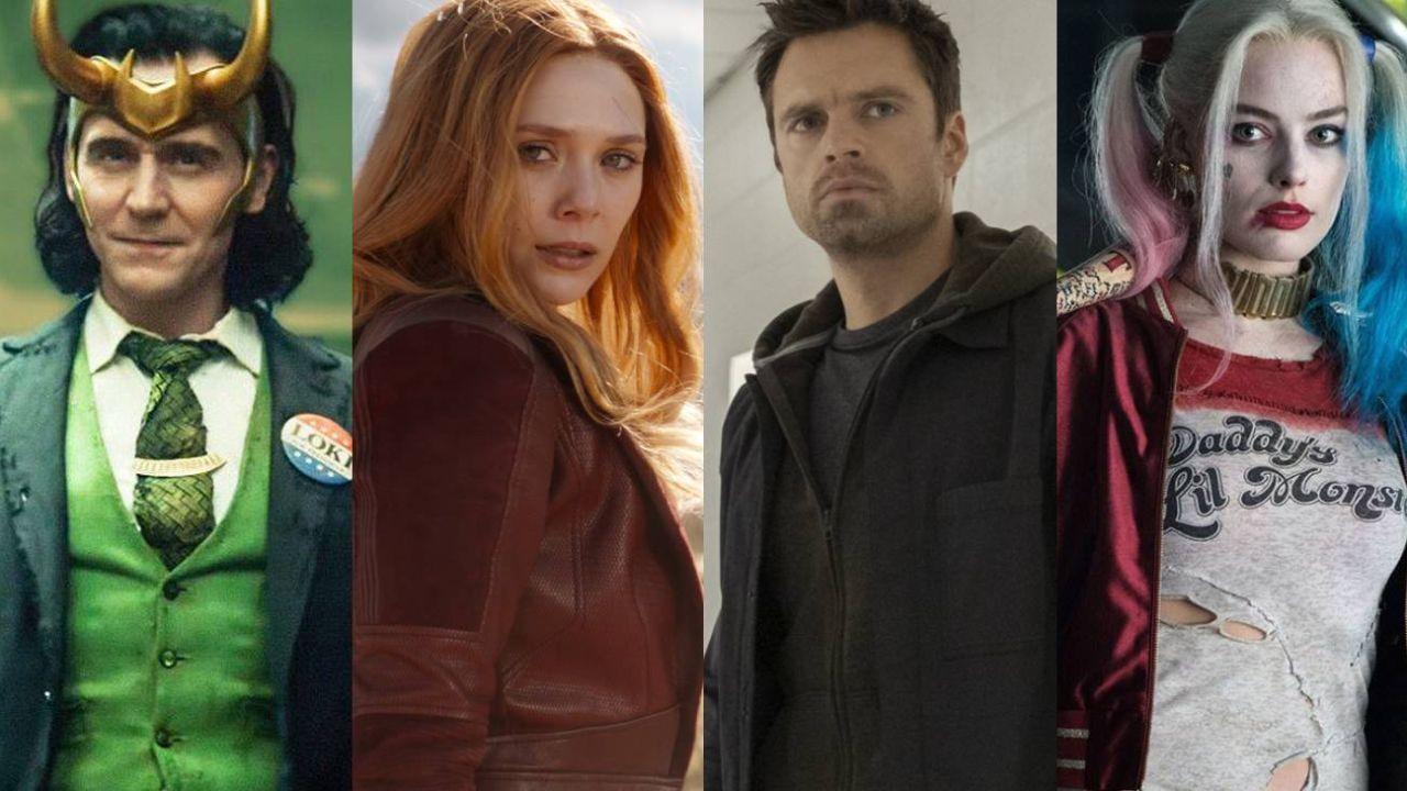 Loki, Wanda, el Soldado de Invierno y Harley, villanos redimidos.  | Foto:CEDOC