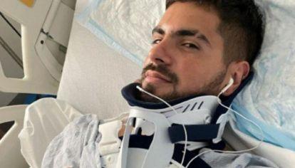 """El drama de Fer Vázquez el líder de Rombai: """"Me quebré la espalda, 7 vértebras, el hombro y 3 costillas"""""""