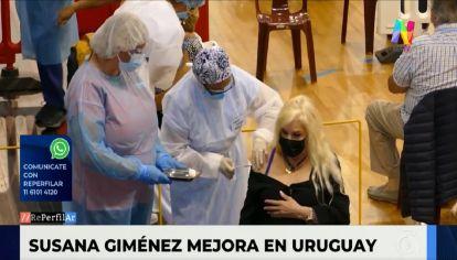 Mejora la salud de Susana Giménez