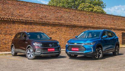 Volkswagen T-Cross Highline vs Chevrolet Tracker Premier