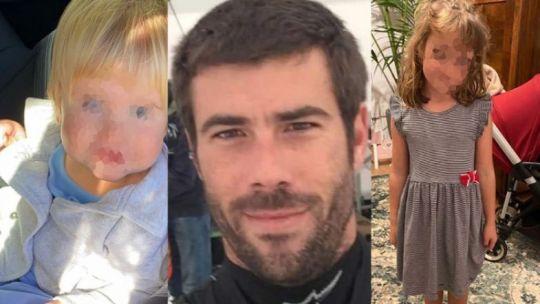 Anna y Olivia (las niñas desaparecidas en Tenerife) y su padre Tomás Gimeno 20210611