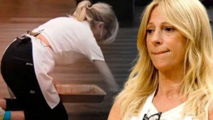 Se filtró un nuevo video de Claudia Fontán cometiendo un nuevo error en MasterChef Celebrity 2