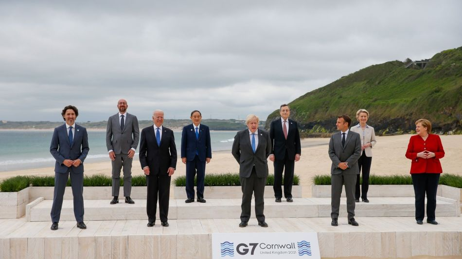 First Day Of G-7 Leaders Summit