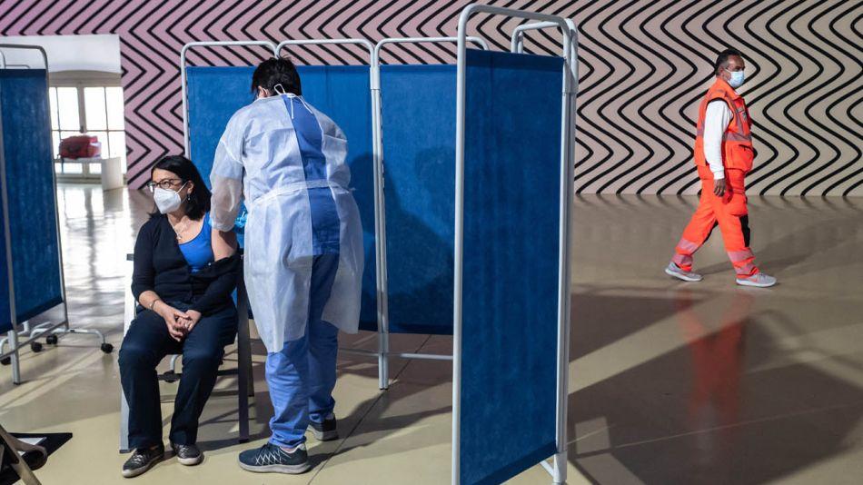 Vacunación en Italia 20210611