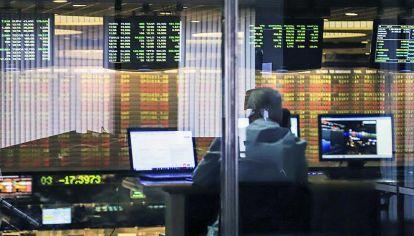 Bolsa de valores. Los bonos en pesos dieron ganancias excepcionales en los últimos meses.