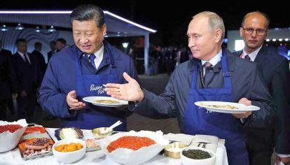 """Juntos. Rusia y China """"pueden ser socios tácticos, pero no es posible que sean aliados estratégicos""""."""