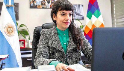 """Chaco. La vicegobernadora Analía Rach Quiroga agradeció a """"la equipa"""" (sic)."""