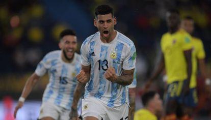Confirmado. Cristian Romero debutó con la selección en los recientes partidos de eliminatorias ante Chile y Colombia.