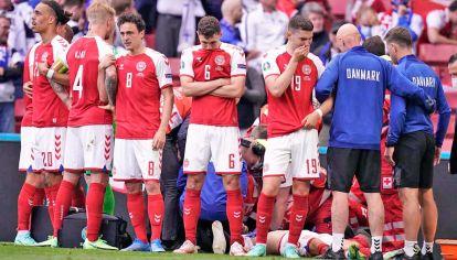Angustia. Los daneses intentaron evitar que se muestren los ejercicios de reanimación.