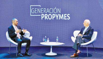 Antecedente. En diciembre, Guzmán dialogó con Paolo Rocca, quien pidió baja de impuestos.
