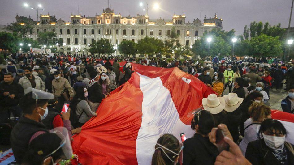 Marchas en Peru