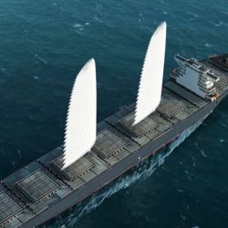 Las velas WISAMO tienen como fin reducir el consumo de combustible del barco.