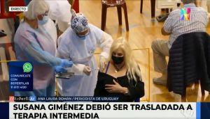 Evoluciona el cuadro de salud de Susana Giménez
