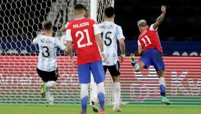 Argentina no pudo sostener el resultado