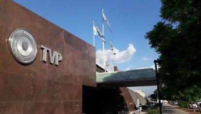 edificio de la televisión publica