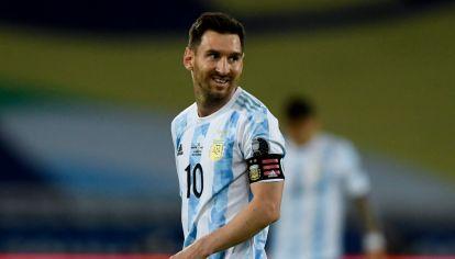 Lionel Messi, capitán y símbolo de la Selección Argentina. //AFP