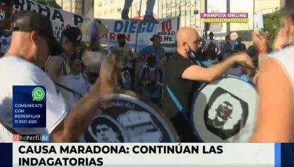 Avanza la causa de Diego Maradona