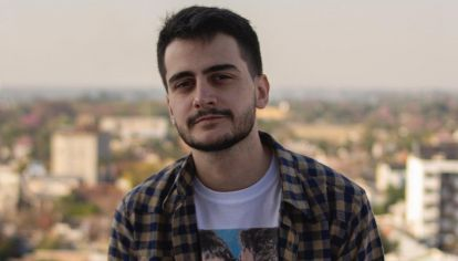 """El """"youtuber"""" Damián Kuc fue atacado por una anaconda"""