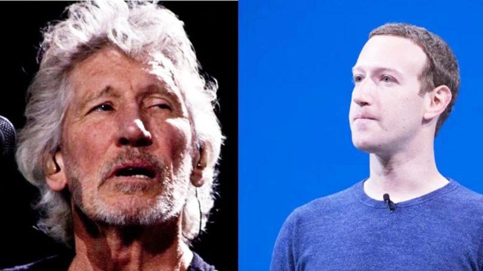 Zuckerberg Roger Waters 20210615
