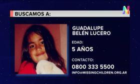 Guadalupe tiene 5 años y está desaparecida desde el lunes en San Luis