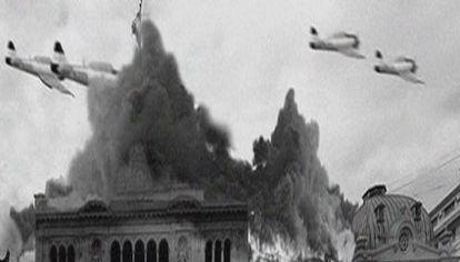 Bombardeo a plaza de mayo del 16 de junio del 55