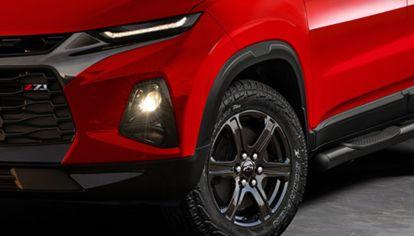 Así sería la versión deportiva (Z71) de la pick-up compacta de Chevrolet