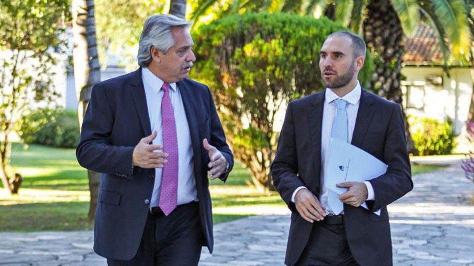 Alberto Fernández y Martín Guzmán 20210616