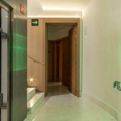 El Pestana CR7 Gran Vía de Madrid se encuentra en un edificio tradicional que fue remodelado con toda la tecnología.