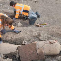 Este tipo de entierros eran habituales en el mundo romano.