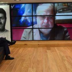 Jorge Fontevecchia en entrevista con el psicoanalista Jorge Alemán