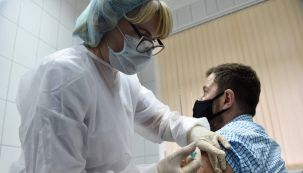 Vacunación Moscú