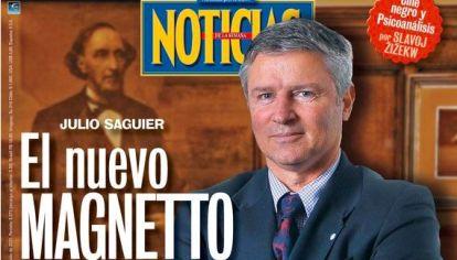 Julio Saguier, el nuevo Magnetto