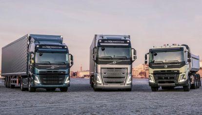 Nueva línea de camiones Volvo