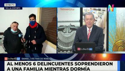 Robo en Villa Crespo - Detuvieron a 4 malhechores