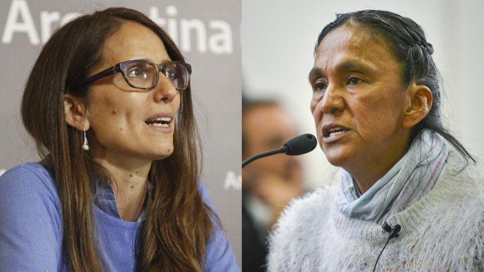 Elizabeth Gómez Alcorta y Milagro Sala 20210617