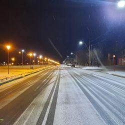 Es la primera nevada del año en la Región Sur rionegrina.