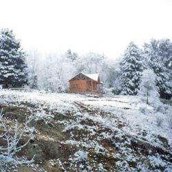 La nevada tomó por sorpresa a los lugareños.