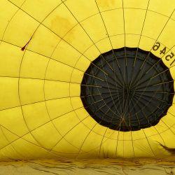 Un globero se prepara para despegar sobre el Paraíso de Bohemia.   Foto:Slavek Ruta /ZUMA Wire / DPA